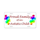 Autism Family Aluminum License Plate