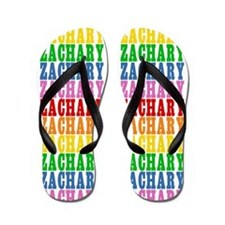Funny Zachary Flip Flops