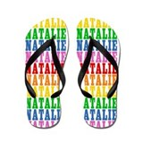 Cute Natalie name Flip Flops