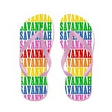 Cute Savannah Flip Flops