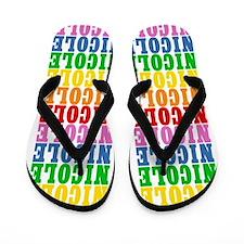 Unique Nicole Flip Flops