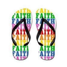 Unique Faith Flip Flops