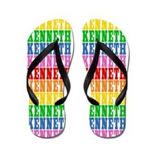Funny Kenneth Flip Flops