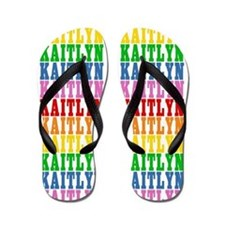 Cute Kaitlyn name Flip Flops