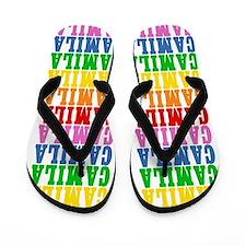 Funny Camila Flip Flops