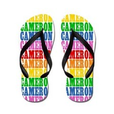 Cute Name cameron Flip Flops