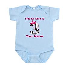 lil diva 3 Infant Bodysuit