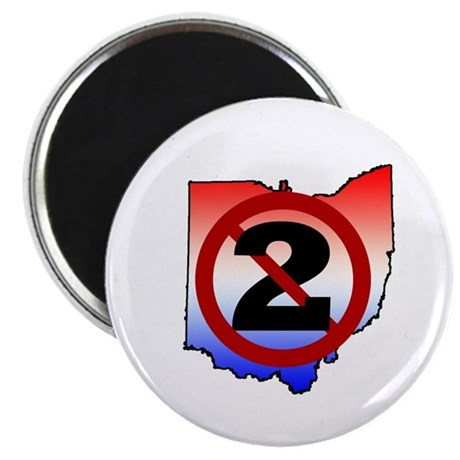 NO on Issue 2 2.25&amp;amp;quot; Magnet (10 pack)