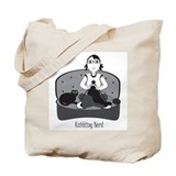 Knitting Nerd Tote Bag