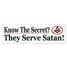 Know The Secret - Bumper Bumper Sticker