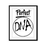 DNA Framed Panel Print