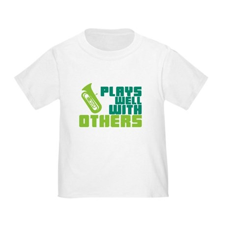 Tuba Plays Well Toddler T-Shirt