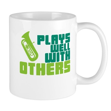 Tuba Plays Well Mug