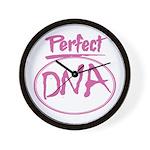 DNA Wall Clock