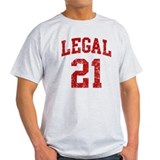 Legal 21 Birthday  T-Shirt
