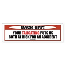 Auto Bumper Sticker