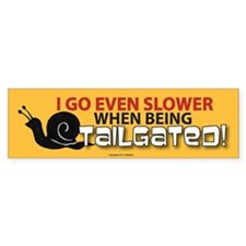 Funny Tailgaters Bumper Sticker