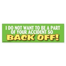 Unique Automobile Bumper Sticker