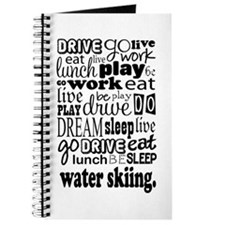Water Skiing Gift Journal