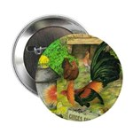 """Chicks For Sale 2.25"""" Button (10 pack)"""
