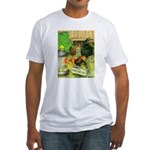 Chicks For Sale Fitted T-Shirt
