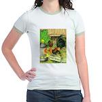 Chicks For Sale Jr. Ringer T-Shirt
