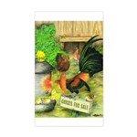 Chicks For Sale Rectangle Sticker
