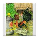 Chicks For Sale Tile Coaster