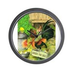 Chicks For Sale Wall Clock
