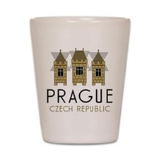 Prague Shot Glass