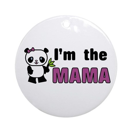 I'm the Mama Ornament (Round)