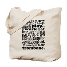 Trombone Music Gift Tote Bag