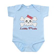 Little Pink Pirate Infant Bodysuit