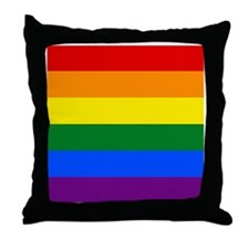 Gay Pride Throw Pillow