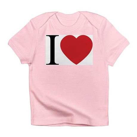 I LOVE (Heart) Infant T-Shirt