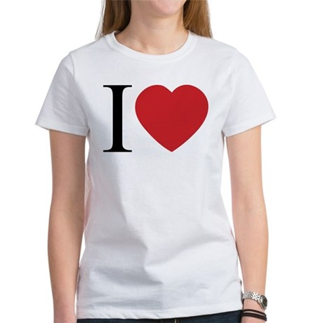 I LOVE (Heart) Women's T-Shirt