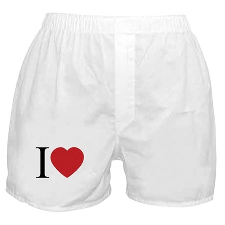 I LOVE (Heart) Boxer Shorts