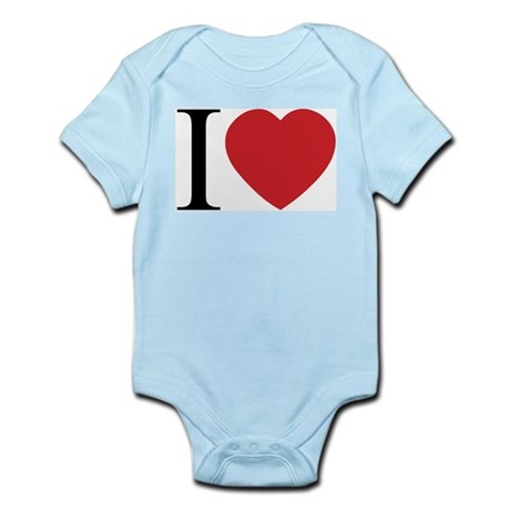 I LOVE (Heart) Infant Bodysuit