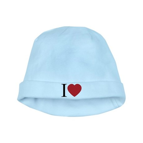I LOVE (Heart) Baby Hat