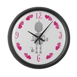 Tin Man Wizard Of Oz Large Wall Clock