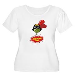 Genealogy Girl Women's Plus Size Scoop Neck T-Shir