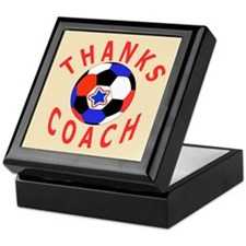 Soccer Coach Thank You Keepsake Box