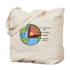 Earth Diagram Tote Bag