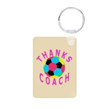 Soccer Coach Thank You Keychains