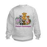 Future Zookeeper Girl Kids Sweatshirt
