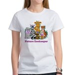 Future Zookeeper Girl Women's T-Shirt