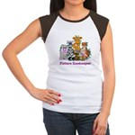Future Zookeeper Girl Women's Cap Sleeve T-Shirt