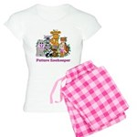 Future Zookeeper Girl Women's Light Pajamas