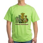 Future Zookeeper Girl Green T-Shirt