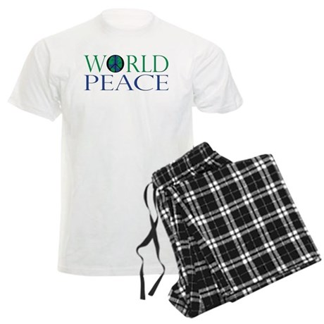 World Peace Men's Light Pajamas